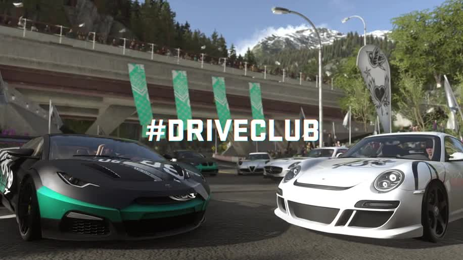 Trailer, Sony, PlayStation 4, PS4, Sony PlayStation 4, Gamescom, Rennspiel, Sony PS4, Gamescom 2013, Driveclub