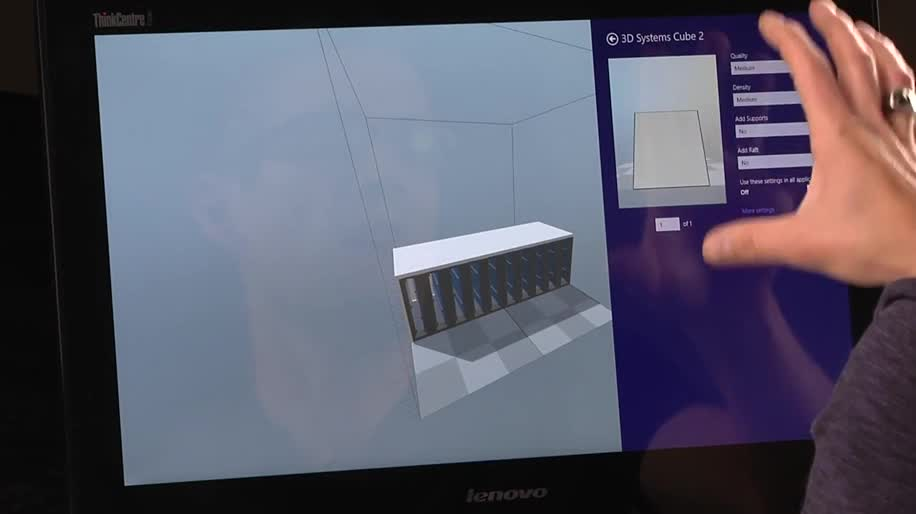 berblick zum 3d drucker support in windows 8 1. Black Bedroom Furniture Sets. Home Design Ideas