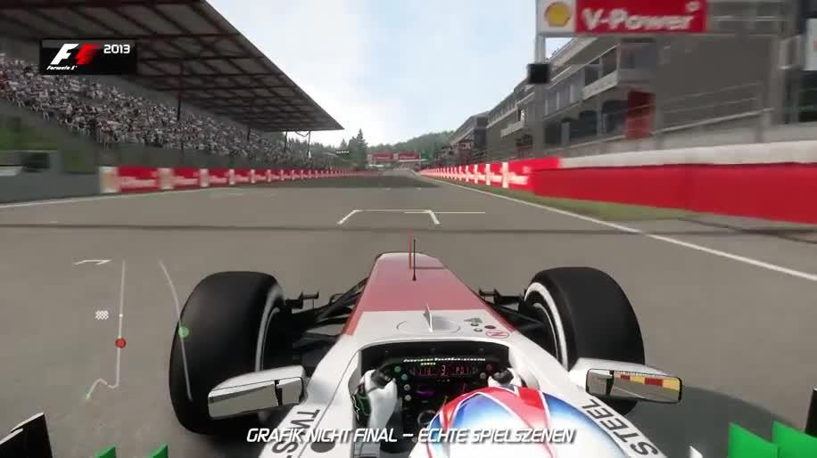 Trailer, Gameplay, Rennspiel, Namco Bandai, Formel 1, F1, F1 2013