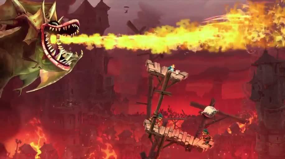 Trailer, Ubisoft, Jump & Run, Rayman, Rayman Legends