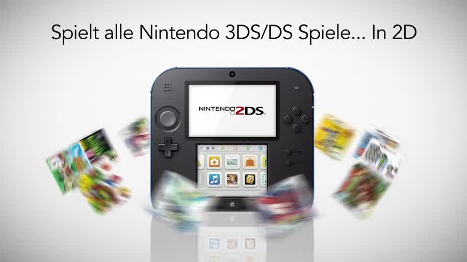 Nintendo, Handheld, Nintendo Handheld, Nintendo 2ds, 2ds