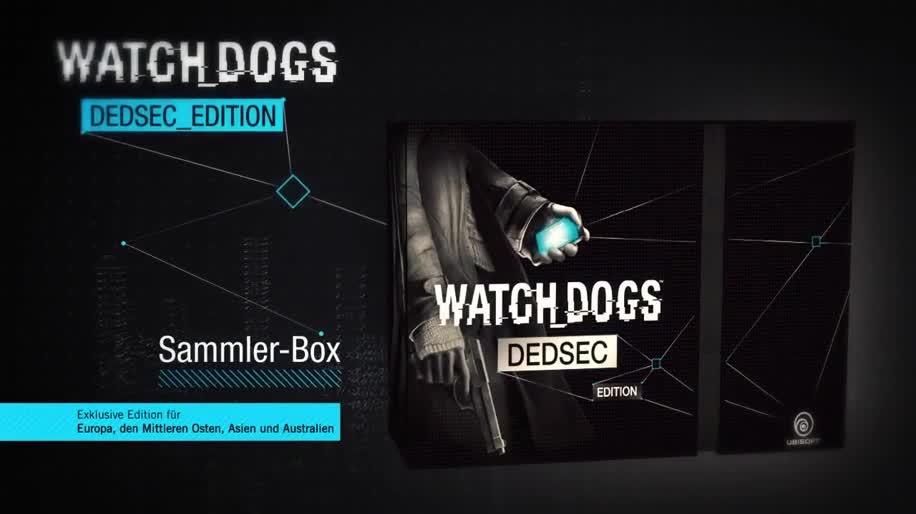 Ubisoft, actionspiel, Unboxing, Watch Dogs, DedSec Edition