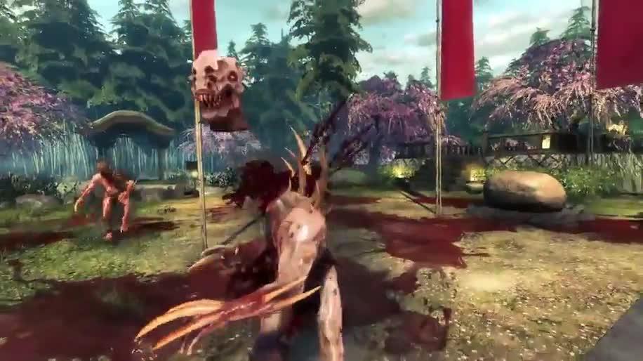 Trailer, Ego-Shooter, Devolver Digital, Shadow Warrior
