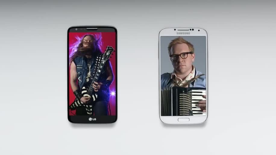 Smartphone, Android, Samsung, Werbespot, LG, Samsung Galaxy, Samsung Galaxy S4, Galaxy S4, Samsung Mobile, S4, LG G2, G2