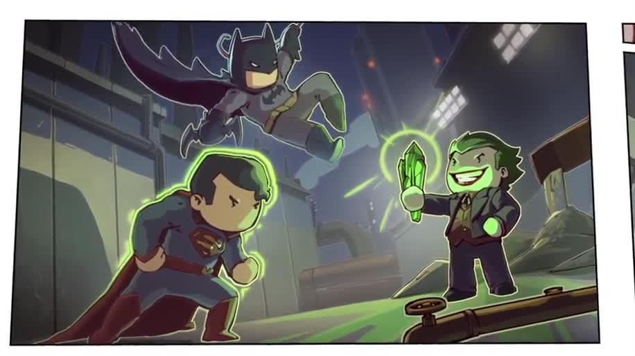 Trailer, Warner Bros., Puzzle, Scribblenauts Unmasked, A DC Comics Adventure