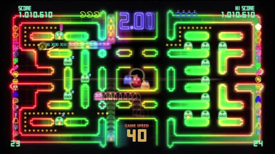 Trailer, Namco Bandai, Pac-Man, PAC-MAN Championship Edition DX+, PAC-MAN Championship Edition DX
