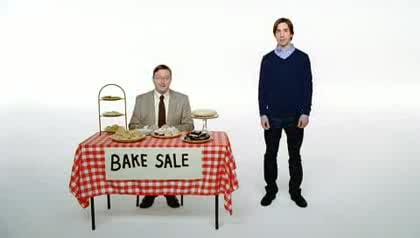 Apple, Windows, Bake Sale