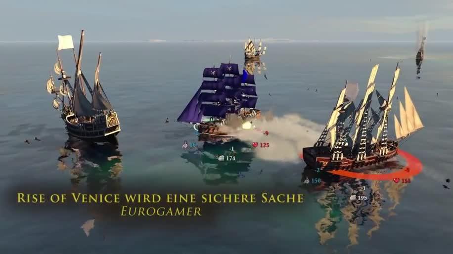Trailer, Simulation, Kalypso Media, Rise of Venice