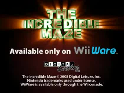 Nintendo, Wii, The Incredible Maze