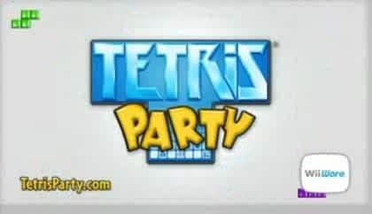 Nintendo, Wii, Party, Tetris