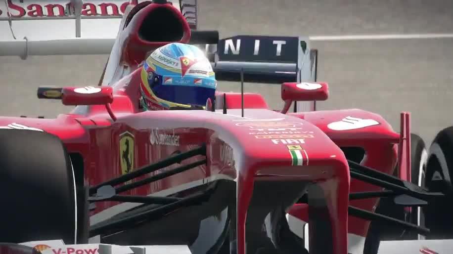 Trailer, Rennspiel, Namco Bandai, Codemasters, Formel 1, F1, F1 2013