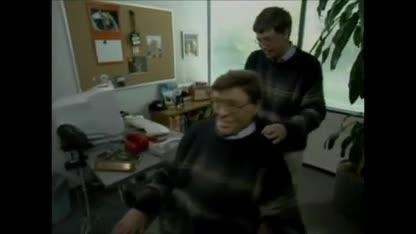 Microsoft, Bill Gates, Steve Ballmer, PDC, Playday, PDC 2001