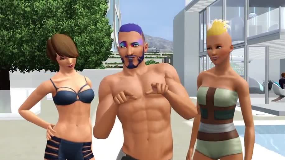 Trailer, Electronic Arts, Ea, Simulation, Add-on, Die Sims, Sims, Die Sims 3, Sims 3, Into the Future