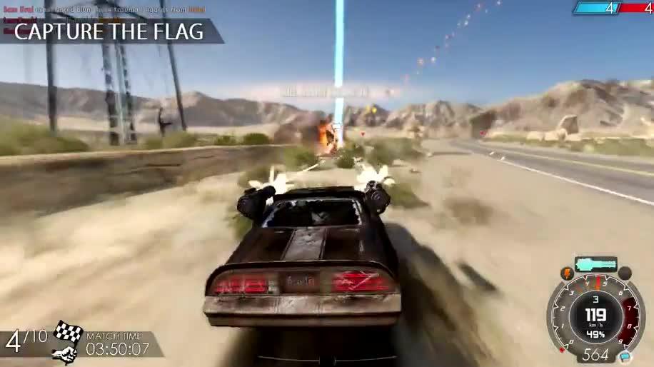 Trailer, Rennspiel, Action-Rennspiel , Iceberg Interactive, Gas Guzzlers Extreme