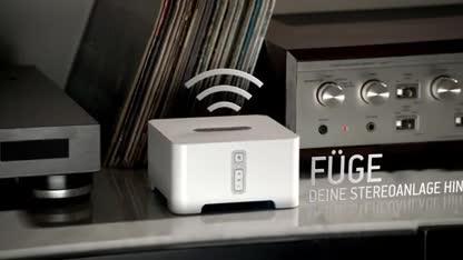 sonos kabelloses audiosystem per app steuern. Black Bedroom Furniture Sets. Home Design Ideas