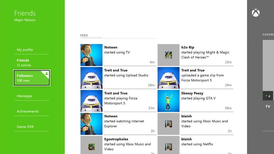 Microsoft, App, Xbox One, Microsoft Xbox One, Friends, Friends-App