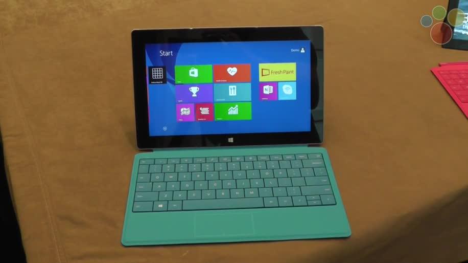 Microsoft, Tablet, Surface, Microsoft Surface, Windows 8.1, Hands-On, Surface 2, Surface Pro 2, Microsoft Surface 2, Windows 8.1 RT