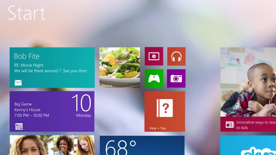 "Microsoft, Betriebssystem, Windows, Windows 8, Windows 8.1, Skype, Skydrive, Windows 8.1 Blue, Windows 8.1 ""Blue"""