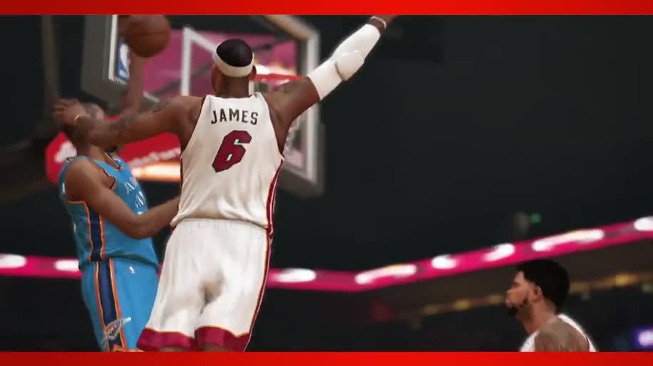 Trailer, PlayStation 4, PS4, 2K Games, Basketball, NBA, NBA 2K14