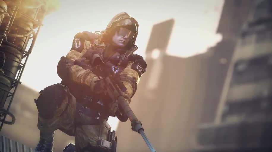 Trailer, Ego-Shooter, Free-to-Play, Crytek, Online-Shooter, Cryengine 3, CryEngine, Warface