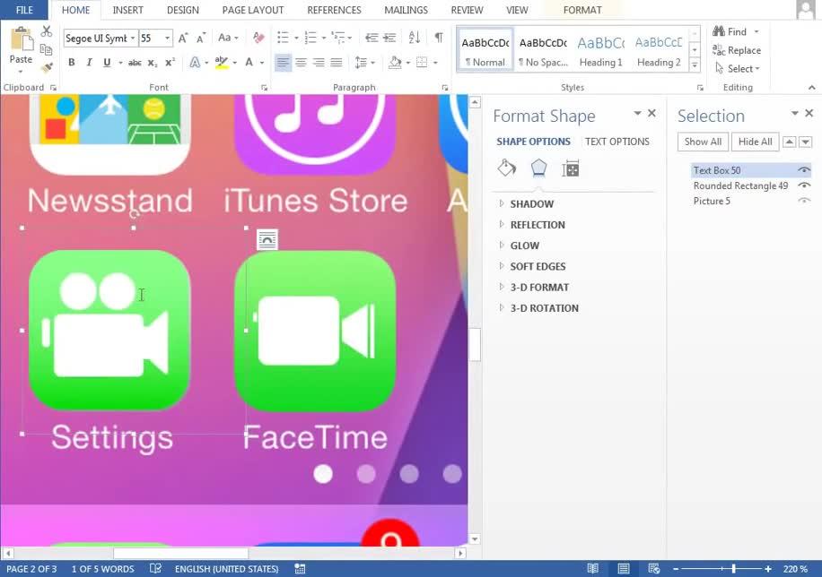 Youtube, iOS 7, Textverarbeitung, Apple iOS 7, Vektorgrafiken, Microsoft Word