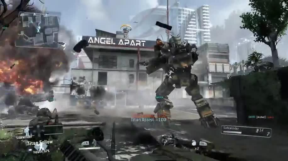 Trailer, Electronic Arts, Ea, actionspiel, Titanfall, Respawn Entertainment