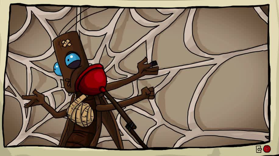Trailer, Adventure, Daedalic Entertainment, Point and Click Adventure, Journey of a Roach, Kobold Games