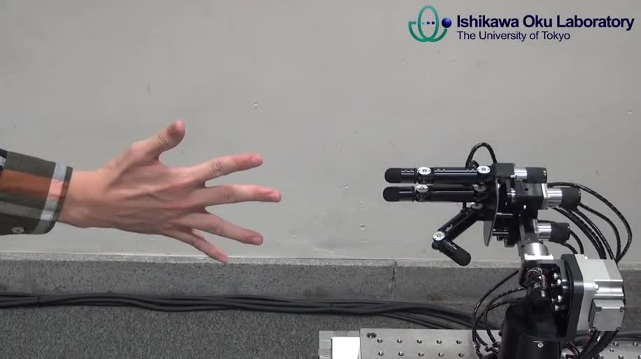 Forschung, Roboter, Janken Robot, Ishikawa Oku Laboratory