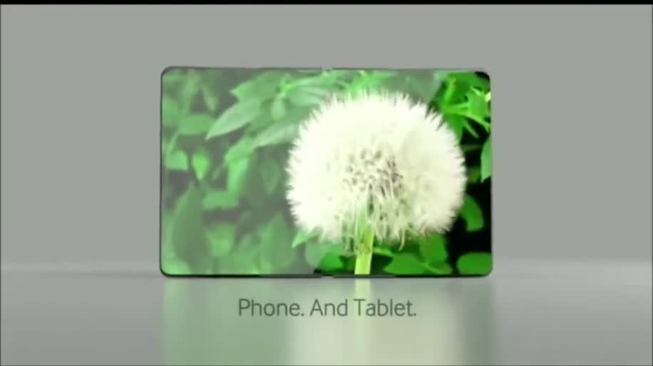 Samsung, Display, Bildschirm, Konzept, faltbar, ces 2013