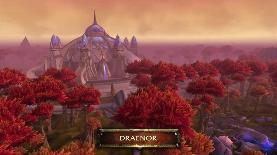 Trailer, Online-Spiele, Blizzard, Mmo, Mmorpg, Online-Rollenspiel, World of Warcraft, Blizzcon, Warlords of Draenor, Blizzcon 2013