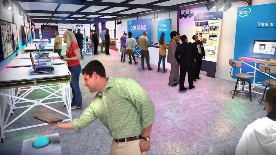 Intel, Prozessor, Cpu, Chip, Geschäft, Hersteller, New York, Intel Experience Store, Intel Store