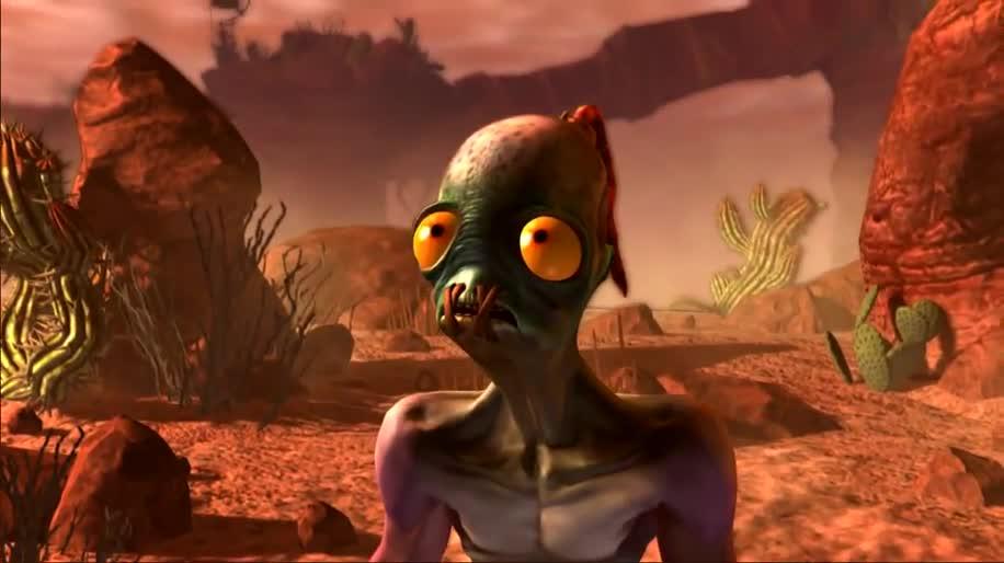 Trailer, Jump & Run, Oddworld, New 'n' Tasty, Just Add Water, Oddworld Inhabitants