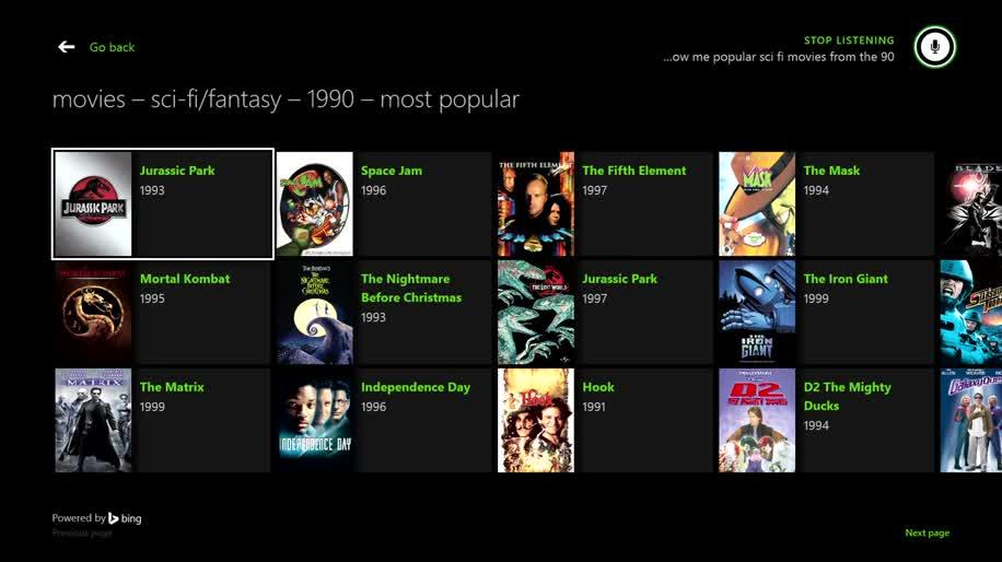 Microsoft, Xbox, Xbox One, Kinect, Microsoft Xbox One, Sprachsteuerung, Spracherkennung, Sprachsuche