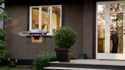 Amazon, Lieferung, Drohne, Zustellung, Prime Air