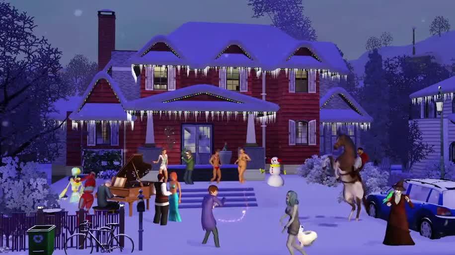 Trailer, Electronic Arts, Ea, Weihnachten, Die Sims 3