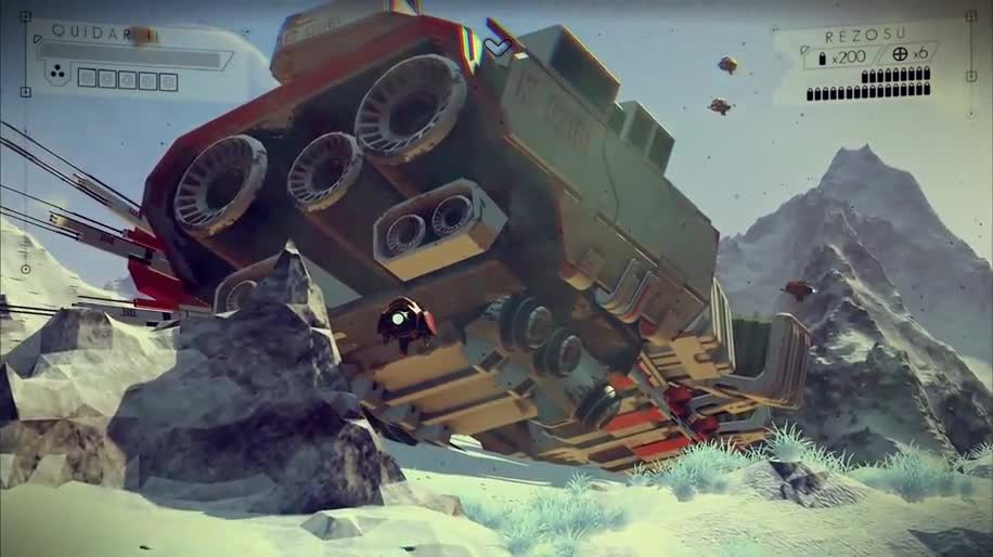 Trailer, Simulation, No Man's Sky, Hello Games, VGX, VGX 2013