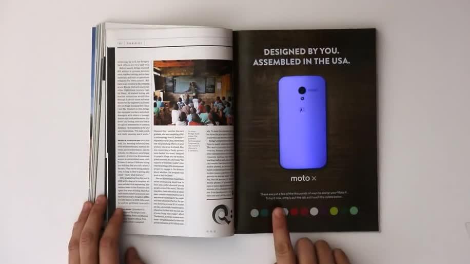 Smartphone, Google, Android, Werbung, Werbespot, Motorola, Motorola Mobility, Moto X, Wired