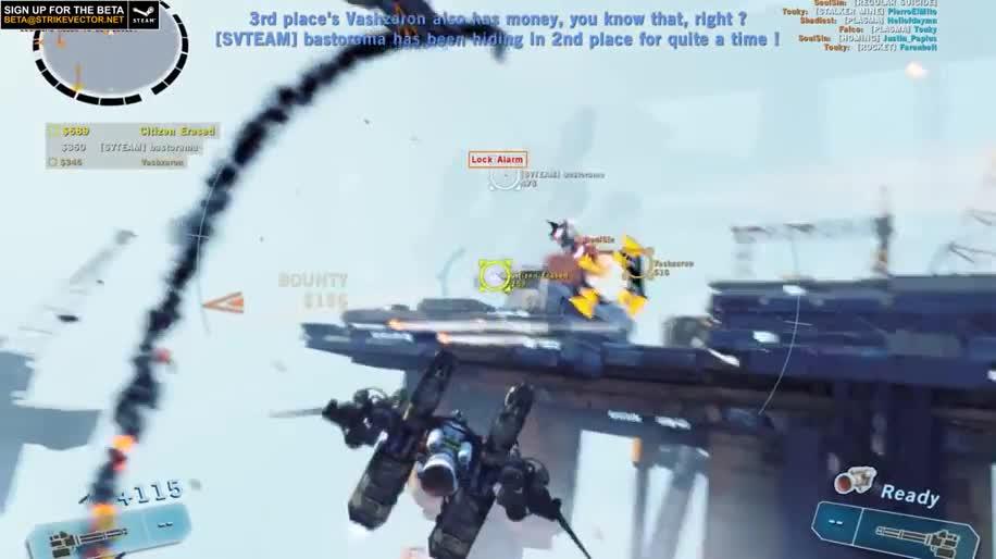 Trailer, Online-Spiele, Mmo, Online-Shooter, Strike Vektor, Ragequit Corporation