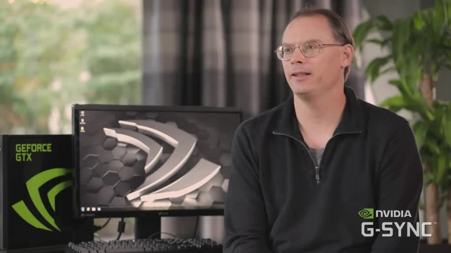 Nvidia, Epic Games, Tim Sweeney, G-Sync, Tom Peterson