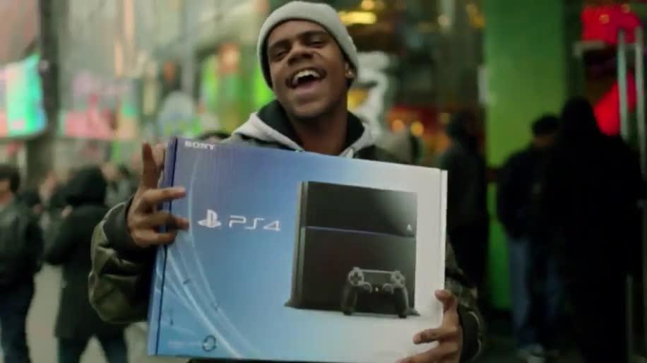 Sony, PlayStation 4, Playstation, Werbespot, PS4, Sony PlayStation 4, Sony PS4, Japan