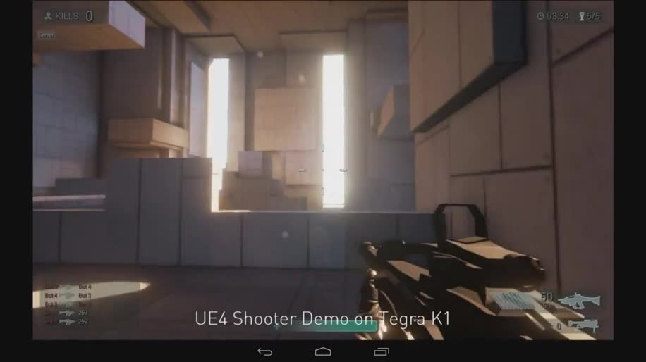 Nvidia, Ces, Ces 2014, unreal engine 4, Unreal Engine, Tegra K1, Nvidia Tegra K1, Nvidia Tegra