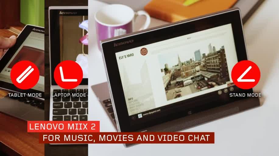 Tablet, Windows 8.1, Lenovo, Ces, Ces 2014, Miix, Miix 2