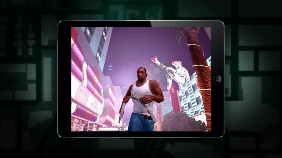 Android, iOS, actionspiel, Rockstar, Gta, Grand Theft Auto, GTA San Andreas