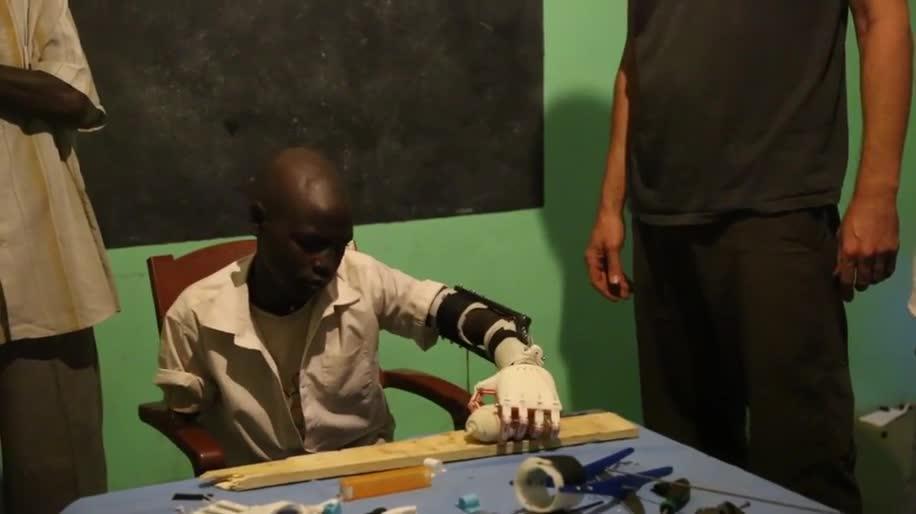3D-Drucker, 3D-Druck, Krieg, Afrika, Prothese, Sudan, Project Daniel, Not Impossible