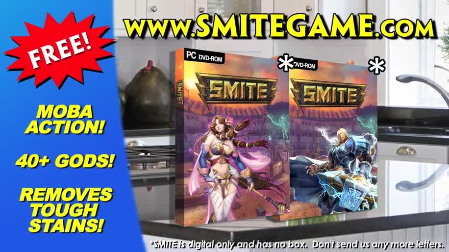 Werbespot, Online-Spiele, Free-to-Play, Mmo, MOBA, Smite, Hi-Rez Studios