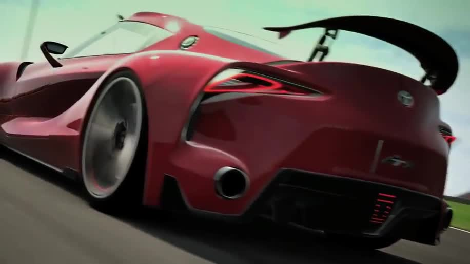 Trailer, Sony, Rennspiel, PlayStation 3, PS3, Gran Turismo, Toyota, Gran Turismo 6, Toyota FT 1