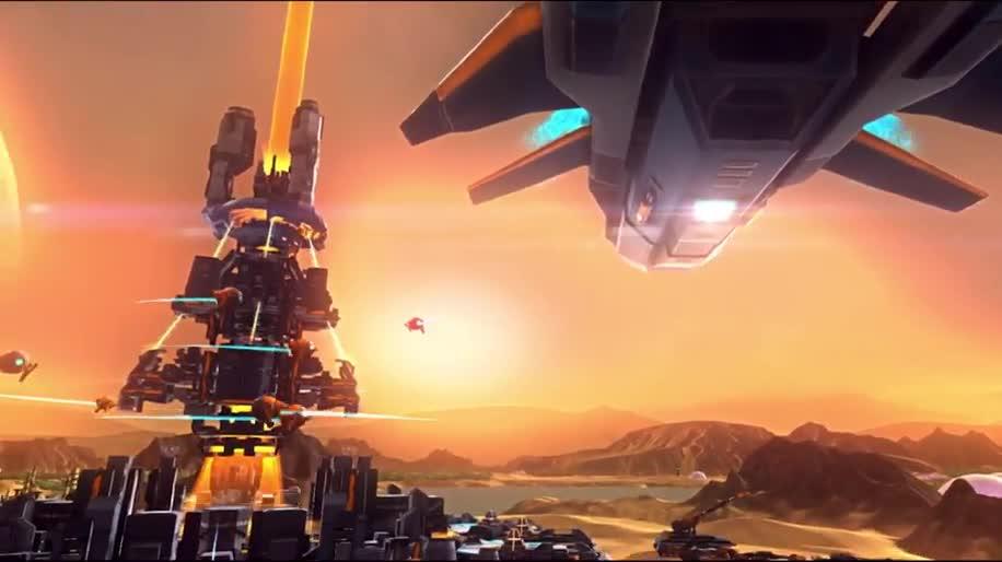 Teaser, Strategiespiel, Focus Interactive, Etherium
