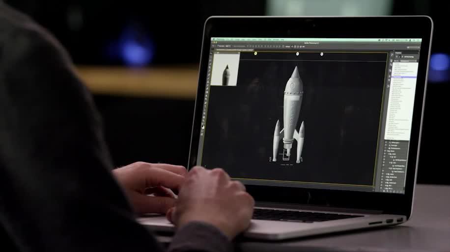Update, 3d, 3D-Drucker, Photoshop, Makerbot, Photoshop CC
