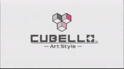 Nintendo, Wii, Art Style, Cubello