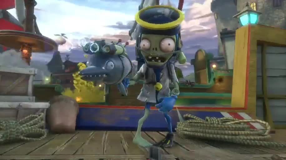 Trailer, Electronic Arts, Ea, Shooter, PopCap, Plants vs Zombies, Garden Warfare